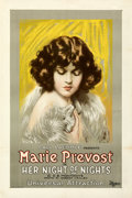 """Movie Posters:Romance, Her Night of Nights (Universal, 1922). Very Fine- on Linen. One Sheet (27.5"""" X 41"""").. ..."""