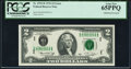 Fr. 1935-D $2 1976 Federal Reserve Note. PCGS Gem New 65PPQ