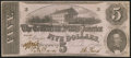 Confederate Notes:1862 Issues, T53 $5 1862 PF-13 Cr. 388 Extremely Fine.. ...