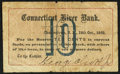 Obsoletes By State:New Hampshire, Charlestown, NH- George Olcott, Jr. at Connecticut River Bank 10¢ Oct. 18, 1862 Very Good-Fine.. ...