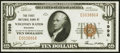 National Bank Notes:Wisconsin, Wisconsin Rapids, WI - $10 1929 Ty. 1 The First National Bank Ch. # 1998 Choice Crisp Uncirculated.. ...