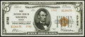 National Bank Notes:Kansas, Wichita, KS - $5 1929 Ty. 2 First National Bank Ch. # 2782 Choice About Uncirculated.. ...