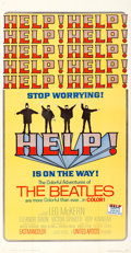 """Movie Posters:Rock and Roll, Help! (United Artists, 1965). Folded, Very Fine+. Three Sheet (41"""" X 79"""").. ..."""