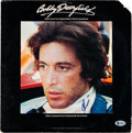 Movie/TV Memorabilia:Autographs and Signed Items, Al Pacino Signed Bobby Deerfield Soundtrack Vinyl LP With Folded Poster (Casablanca, NBLP 7071)....