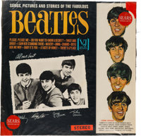 The Beatles Songs, Pictures and Stories of the Fabulous Beatles Stereo Vinyl LP (Vee Jay, 1062)