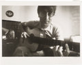 Music Memorabilia:Photos, John Lennon Photo Signed By Photographer Douglas Kirkland (1966). . ...