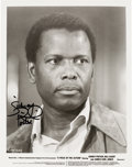 Movie/TV Memorabilia:Autographs and Signed Items, Sidney Poitier Signed Photo. ...