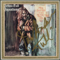 Music Memorabilia:Autographs and Signed Items, Jethro Tull Aqualung CD Sleeve Signed by Ian Anderson. ...