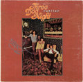 Music Memorabilia:Autographs and Signed Items, Three Dog Night It Ain't Easy Vinyl LP Signed by Chuck Negron. ...