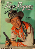 Music Memorabilia:Autographs and Signed Items, Roy Rogers Signed and Inscribed Comic (Dell). ... (Total: 0 Items)