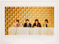 """Music Memorabilia:Photos, The Beatles """"Hilton Hotel"""" Limited Edition Print Signed and Numbered By Artist. . ..."""