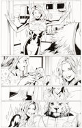 Original Comic Art:Panel Pages, Greg Land and Jay Leisten Uncanny X-Men #502 Story Page 7 Original Art (Marvel Comics, 2008)....