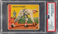 Autographs:Sports Cards, Signed 1933 Goudey Rogers Hornsby #119 PSA/DNA Auto 7....