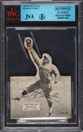 Autographs:Sports Cards, Signed 1934-36 Batter-Up Jim Bottomley #8 Beckett Authentic - Altered....