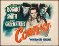 """Movie Posters:Film Noir, Conflict (Warner Brothers, 1945). Very Fine-. Title Lobby Card (11"""" X 14""""). Film Noir.. ..."""