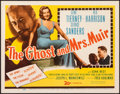 """Movie Posters:Romance, The Ghost and Mrs. Muir (20th Century Fox, 1947). Very Fine. Title Lobby Card (11"""" X 14""""). Romance.. ..."""
