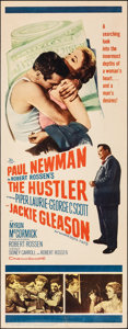 "Movie Posters:Drama, The Hustler (20th Century Fox, 1961). Rolled, Fine/Very Fine. Insert (14"" X 36""). Drama.. ..."