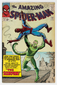 The Amazing Spider-Man #20 (Marvel, 1965) Condition: GD/VG