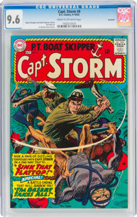 Captain Storm #9 Savannah Pedigree (DC, 1965) CGC NM+ 9.6 Cream to off-white pages
