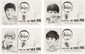 Music Memorabilia:Memorabilia, The Beatles Official Tie Tack Pin Set (4) (USA, 1964). . ...