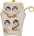 Music Memorabilia:Memorabilia, The Beatles Vinyl Cigarette Case/Purse With Key Ring (Hong Kong, circa 1964).. ...