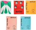 Music Memorabilia:Memorabilia, The Beatles Nylon Stockings Collection (5) (1964)....