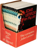 Music Memorabilia:Memorabilia, John Lennon In My Life 10 Books Plus Counter Display (Scarborough Books, 1983). . ... (Total: 10 Items)