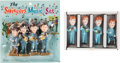 Music Memorabilia:Memorabilia, The Beatles Cake Decorations Two Sets (2).. ... (Total: 2 Items)