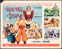 The Magic Voyage of Sinbad & Other Lot (Filmgroup, Inc., 1962). Rolled, Overall: Very Fine-. Half Sheets (2) (22...