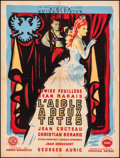 """Movie Posters:Foreign, The Eagle has Two Heads (La Société des Films Sirius, 1948). Fine/Very Fine on Linen. French Moyenne (23.5"""" X 31.25""""). Forei..."""