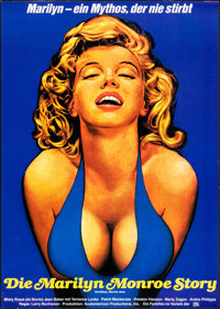 """Goodbye, Norma Jean (Stirling Gold, 1976). Rolled, Very Fine+. German A1 (23.25"""" X 33""""). Drama"""