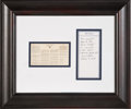 Explorers:Space Exploration, Apollo 11 Flown Outer Space Treaty Facsimile Originally from the Personal Collection of Mission Command Module Pilot Michael C...