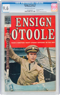 Ensign O'Toole #1 (Dell, 1963) CGC NM+ 9.6 Off-white to white pages