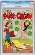 Silver Age (1956-1969):Humor, Fox and the Crow #72 Savannah Pedigree b(DC, 1962) CGC NM 9.4 Cream to off-white pages....