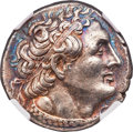 Ancients:Greek, Ancients: PTOLEMAIC EGYPT. Ptolemy II Philadelphus (285/4-246 BC). AR stater or tetradrachm (26mm, 14.18 gm, 12h). NGC...