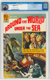 Around the World Under the Sea #nn Pacific Coast Pedigree (Dell, 1966) CGC NM/MT 9.8 Off-white pages