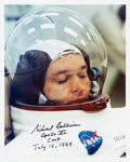 Explorers:Space Exploration, Michael Collins Signed Apollo 11 Countdown Demonstration Test Color Photo. ...