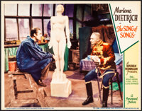 """The Song of Songs (Paramount, 1933). Very Fine+. Lobby Card (11"""" X 14""""). Drama"""