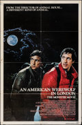 "Movie Posters:Horror, An American Werewolf in London & Other Lot (Universal, 1981). Folded, Overall: Fine/Very Fine. One Sheets (2) (27"" X 41""). H... (Total: 2 Items)"