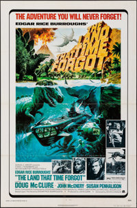 """The Land That Time Forgot (American International, 1975). Folded, Fine/Very Fine. One Sheet (27"""" X 41""""). Georg..."""