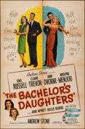 """Movie Posters:Comedy, The Bachelor's Daughters & Other Lot (United Artists, 1946). Folded, Overall: Fine/Very Fine. One Sheets (2) (27"""" X 41""""). Co... (Total: 2 Items)"""