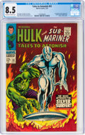 Silver Age (1956-1969):Superhero, Tales to Astonish #93 (Marvel, 1967) CGC VF+ 8.5 Off-white to white pages....