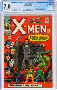 X-Men #22 (Marvel, 1966) CGC FN/VF 7.0 Off-white pages