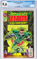 Modern Age (1980-Present):Superhero, Green Lantern V3#50 (DC, 1994) CGC NM+ 9.6 White pages....