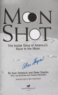Explorers:Space Exploration, Alan Shepard Signed Book: Moon Shot. ...
