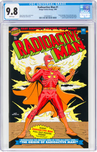Radioactive Man #1 (Bongo Comics Group, 1993) CGC NM/MT 9.8 White pages
