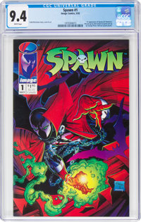 Spawn #1 (Image, 1992) CGC NM 9.4 White pages