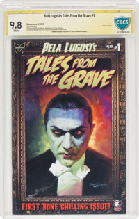Bela Lugosi's Tales From the Grave #1 Signature Series - Basil Gogos (Monsterverse, 2010) CBCS NM/MT 9.8 White pages
