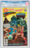 Modern Age (1980-Present):Superhero, DC Comics Presents #47 Superman and The Masters of the Universe (DC, 1982) CGC NM+ 9.6 White pages....