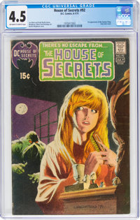 House of Secrets #92 (DC, 1971) CGC VG+ 4.5 Off-white to white pages
